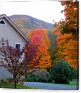 Rural Colorful Autumn Landscape 4 Canvas Print