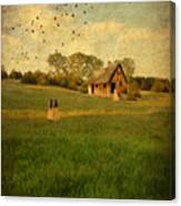 Rural Cottage Canvas Print