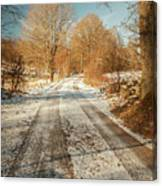 Rural Country Road Canvas Print