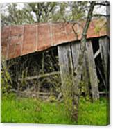 Rural Decay Canvas Print