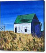 Rural House Canvas Print