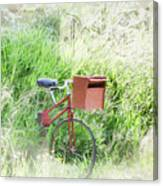 Rural Mailbox Canvas Print