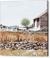 Rural Maine Canvas Print