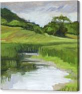 Rural Marsh Canvas Print