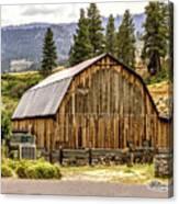 Rural Oregon Barn Canvas Print