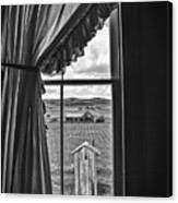 Rural Outhouse Canvas Print