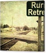 Rural Retreat Canvas Print