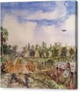 Rural Route 1 Canvas Print