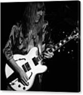 Rush 77 #17 Enhanced Bw Canvas Print