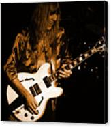 Rush 77 #17 Enhanced In Amber Canvas Print