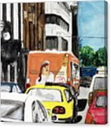 Rush Hour Canvas Print