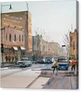 Rush Hour II In Fond Du Lac Canvas Print