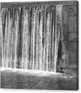 Rushing Waterfall Canvas Print