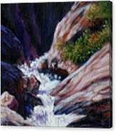 Rushing Waters two Canvas Print