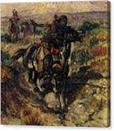 Russell Charles Marion The Scouting Party Canvas Print