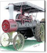 Russell Steam Tractor Canvas Print