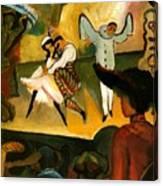Russian Ballet  Canvas Print
