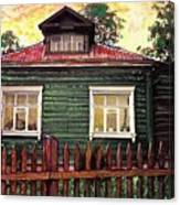 Russian House 2 Canvas Print