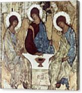 Russian Icons: The Trinity Canvas Print