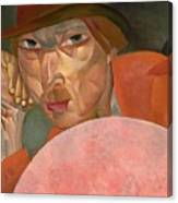 Russian Man Boris Grigoriev Canvas Print