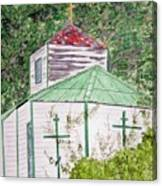 Russian Orthodox In Hoonah Canvas Print