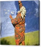 Russian Painter Canvas Print