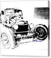 Russian Rat Rod Canvas Print