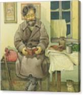 Russian Scene 03 Canvas Print