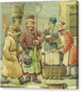 Russian Scene 04 Canvas Print