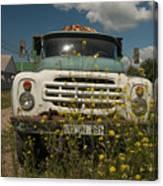 Russian Truck Canvas Print