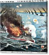 Russo-japanese War, 1904 Canvas Print