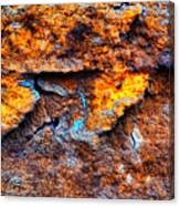 Rust Abstract 9 Canvas Print