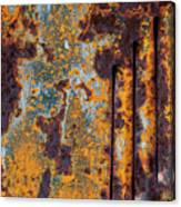 Rust Abstract Car Part Canvas Print