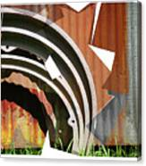 Rust And Our Carbon Footprint Canvas Print