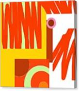 Rust Gold 3 Canvas Print