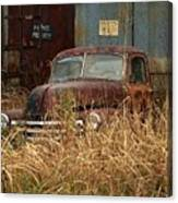 Rust In Peace Canvas Print