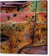 Rusted Beauty Canvas Print