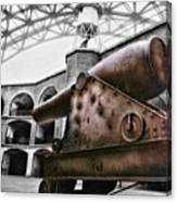 Rusted Cannon Canvas Print