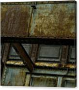 Rusted Steel Support Structure Canvas Print