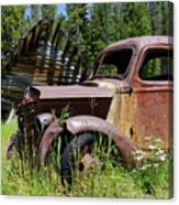 Rusted Truck Canvas Print