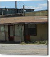 Rustic Abandoned Building on the Road in New Mexico Canvas Print