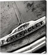 Rustic Chevrolet Canvas Print