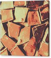Rustic Choc Block Canvas Print