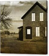Rustic County Farm House Canvas Print