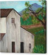 Rustic House Canvas Print