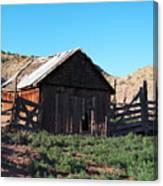 Rustic In Colorado Canvas Print