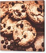 Rustic Kitchen Cookie Art Canvas Print
