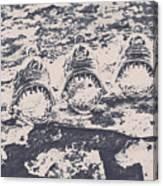 Rustic Nautical Artwork Canvas Print