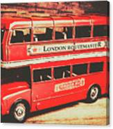 Rustic Routemaster Canvas Print