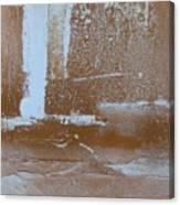 Rustic Snow Canvas Print